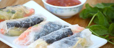 Homemade Thai Fresh Rolls- Thai Summer Rolls