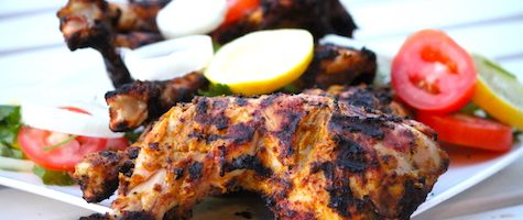 The Best Al Faham Chicken- Grilled Arabian Chicken- With Homemade Marinade