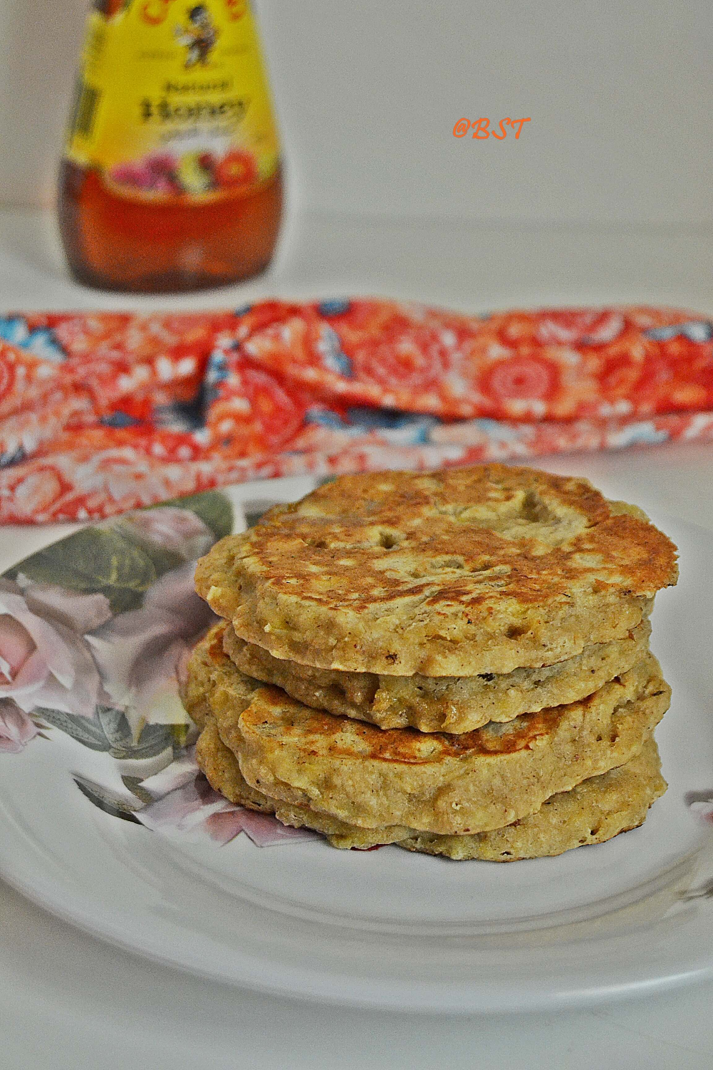 Wholewheat Oats Pancakes
