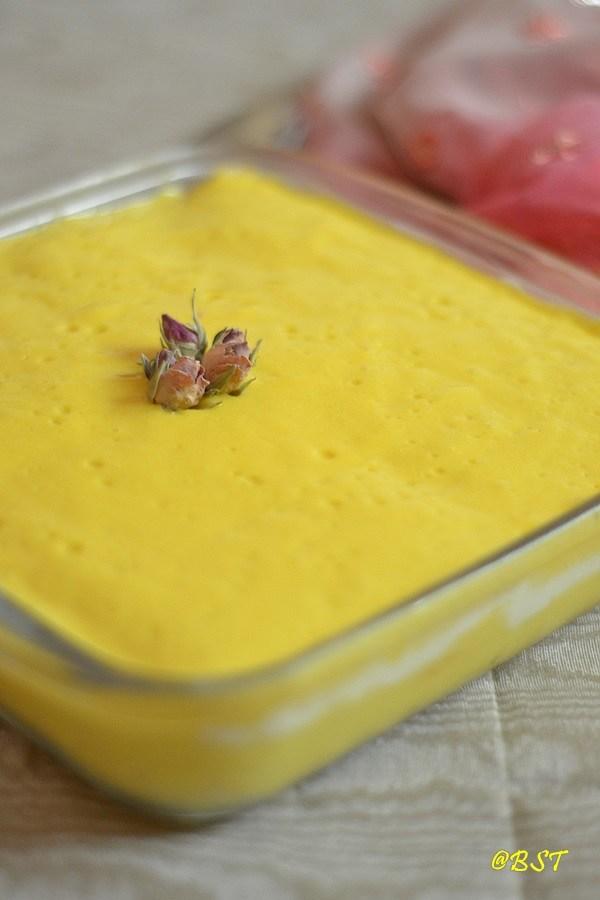 Mango Bread Pudding {No Cook!}