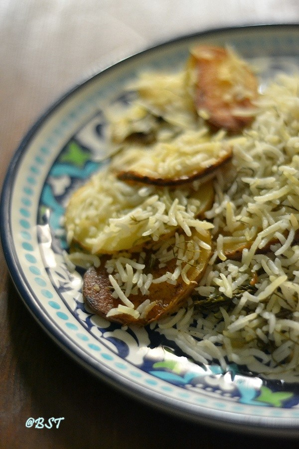 Shivid Polow | Persian Dill Rice