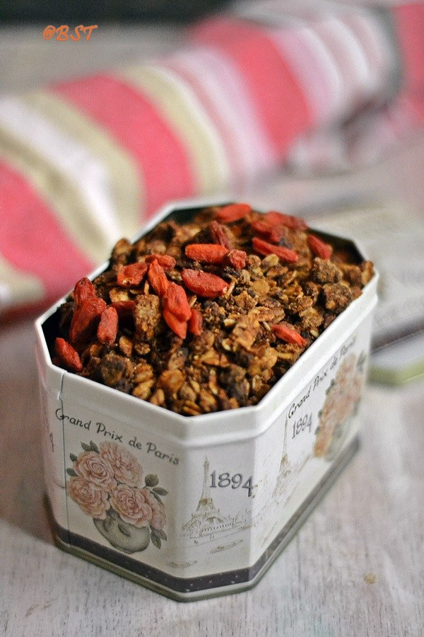 Almond Butter Maple Granola