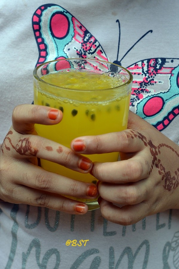 Passion Fruit Limeade