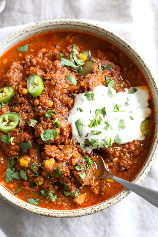 Instant Pot Enchilada Soup – Stovetop Option