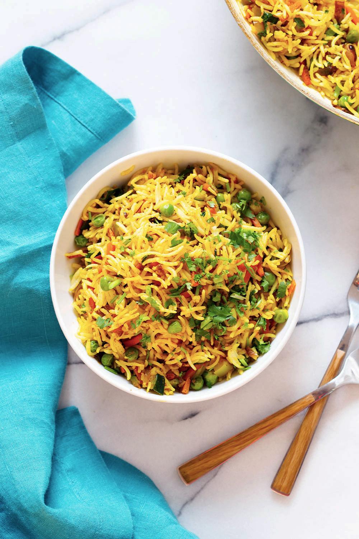 Curry Fried Rice – 1 Pot 20 Mins