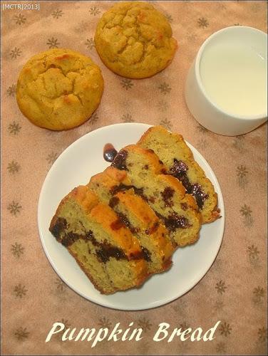 Wholewheat Pumpkin Bread/Cake