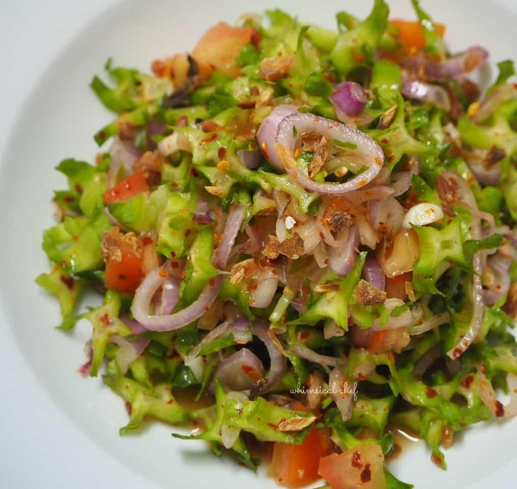 Winged bean salad