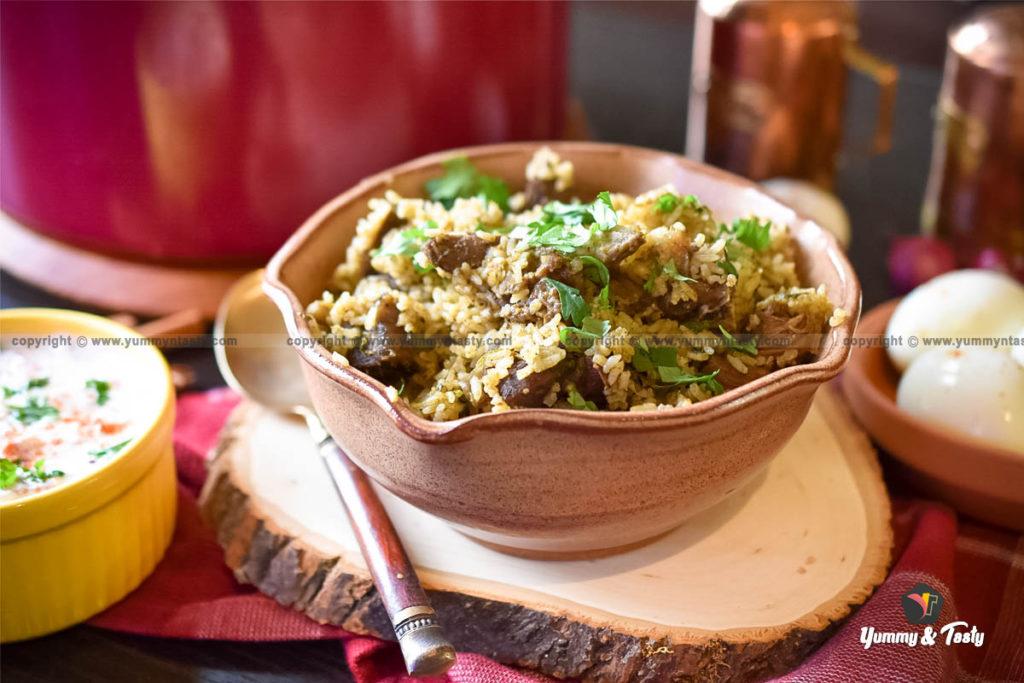 Thalappakatti Mutton Biriyani Recipe