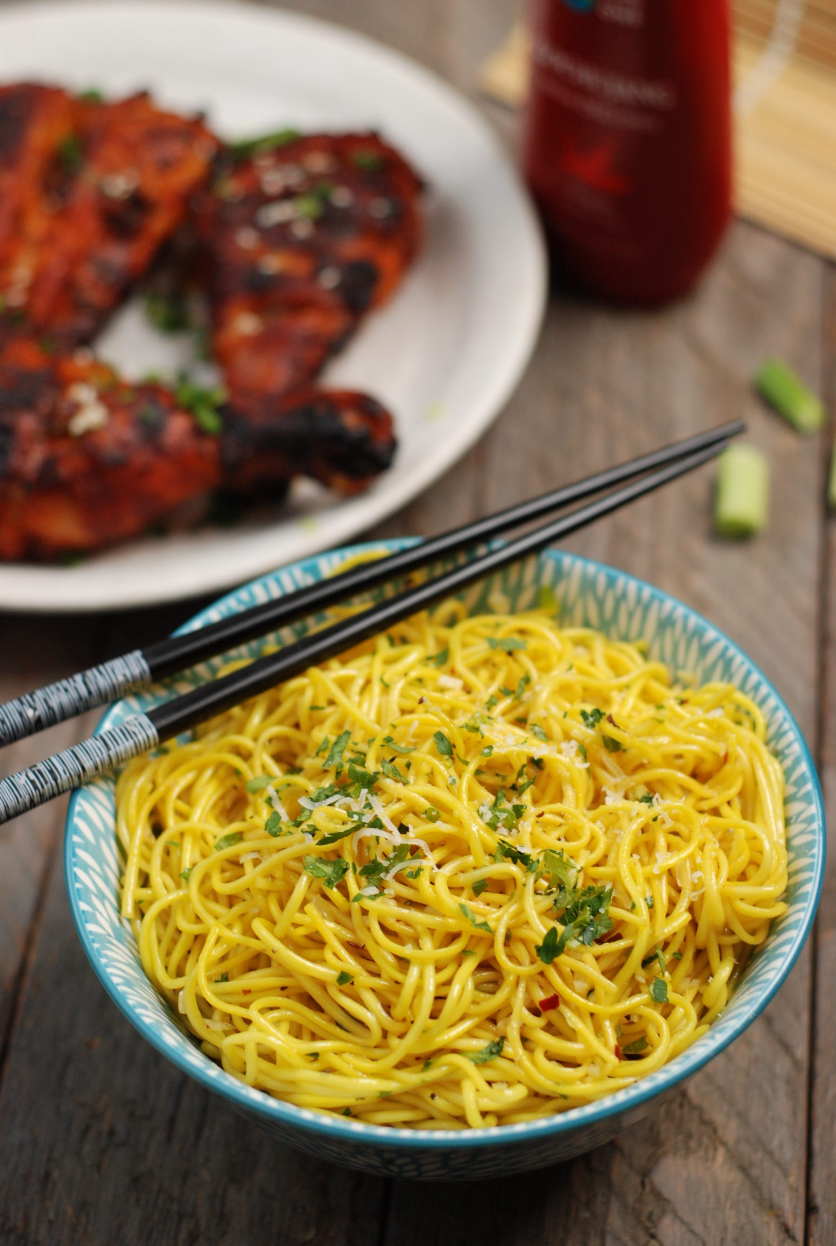 San Francisco Style Garlic Noodles