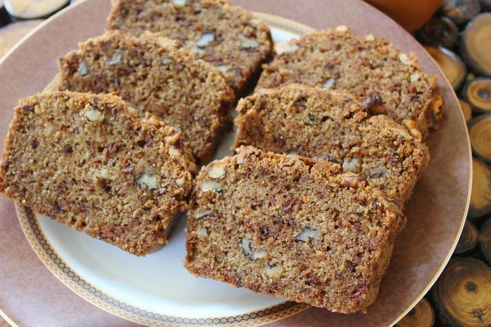 Carrot Walnut Bread Recipe