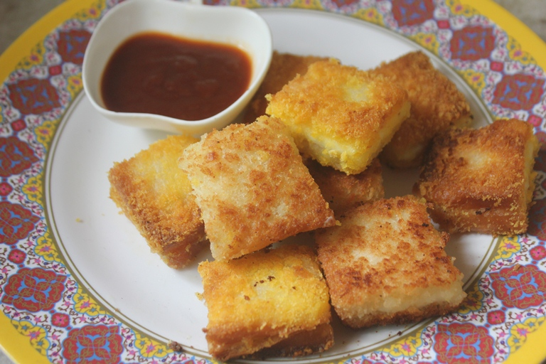 Bread Cheese Bites Recipe – Quick Snack Ideas for Kids